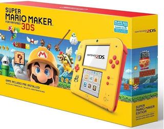 Consola Nintendo 2ds Mario Maker Original Nueva Sellada Msi