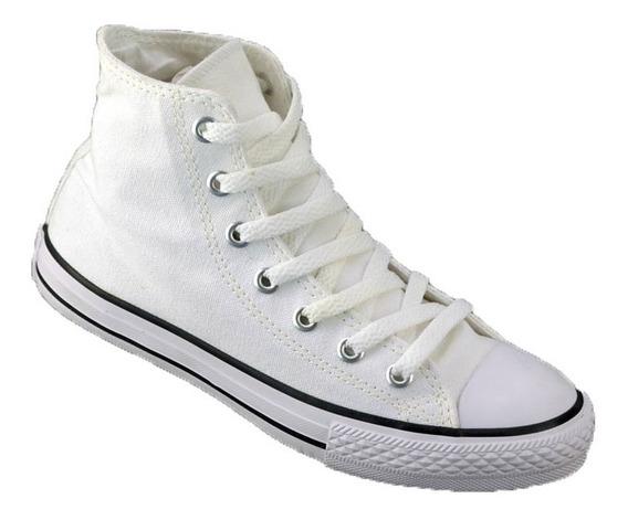 Zapatilla Converse All Star Niños Original Blanco