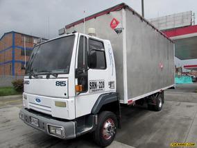 Furgones Ford Cargo 815 Lw