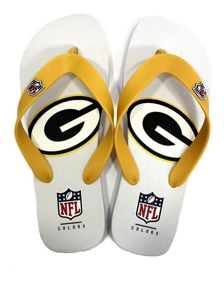 Chinelo De Dedo Green Bay Packers Flip Flop - Nfl