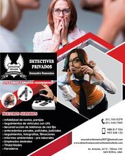Detectives E Investigadores Femeninos Del Peru