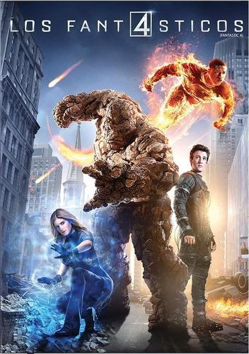 Los 4 Cuatro Fantasticos 2015 Marvel Pelicula Dvd