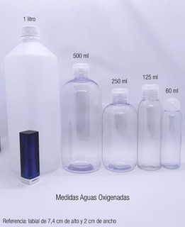 Agua Oxigenada De 20-30-35- X 500 Ml