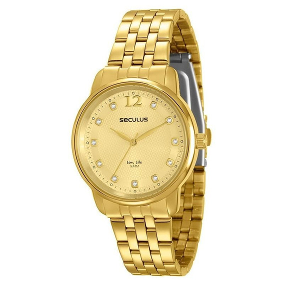 Relógio Seculus Feminino Long Life - 23445lpsvda1
