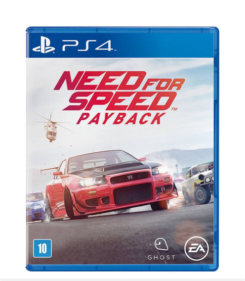 Need For Speed Payback Ps4 Mídia Física Envio Imediato