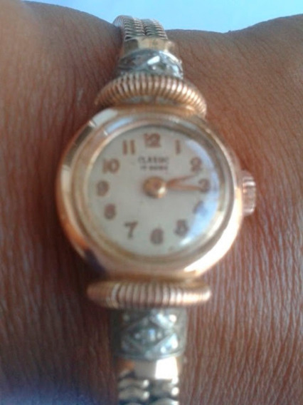 Relógio Classic Anos 40 Ouro 18k