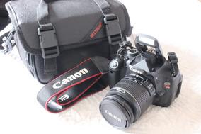Canon T3i + 18-55mm + Bolsa