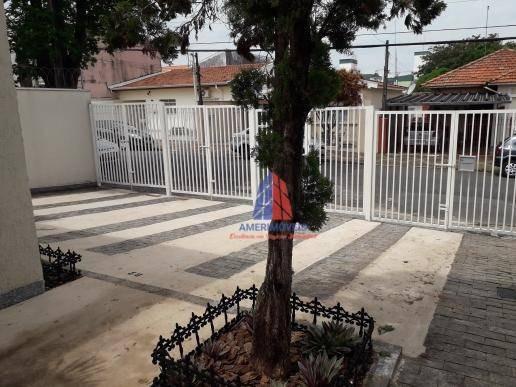 Casa Com 1 Dormitório Para Alugar, 50 M² Por R$ 850/mês - Vila Santa Catarina - Americana/sp - Ca1188