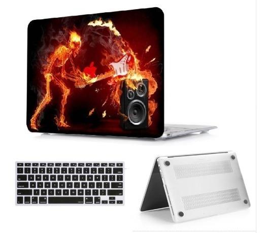 Case Macbook Pro 13, Capa Completa + Protetor De Teclado.