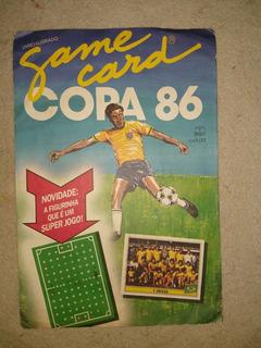 Álbum Da Copa De 86 Game Card Completo E Original.