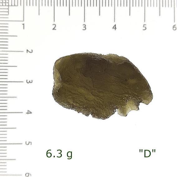 Auténtica Moldavita De 6.3 A 6.5 Gr. Sanación Reconexión Med