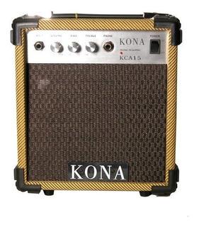 Kona Kca15tw Amplificador De Guitarra Elã©ctrica De 10 Vat