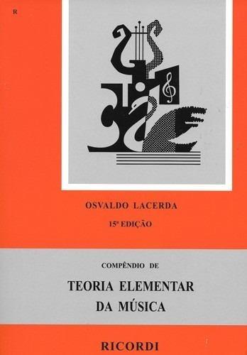 Método Teoria Elementar Da Música Por Osvaldo Lacerda