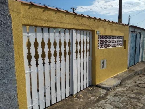 Casa No Litoral Com 100 M², Lado Praia Em Itanhaém/sp 6080pc