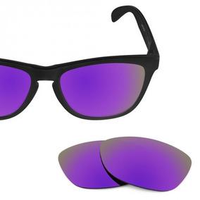 b3abca445 Oculos Oakley Lente Roxa De Sol Frogskins - Óculos no Mercado Livre ...