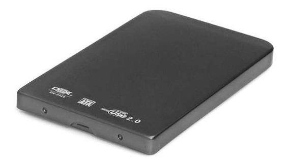 Case Externa Hd Sata Notebook 2.5 Pc/ Note Usb 2.0