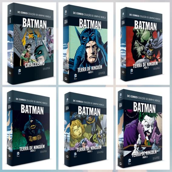 Batman Terra De Ninguém Coleção Completa 6 Livros Capa Dura