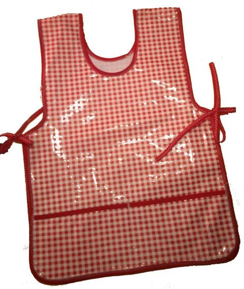 Batita / Mandil De Arte Escolar Kinder De Plastico / Hule