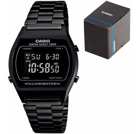 Reloj Casio B640 Negro Vintage Original