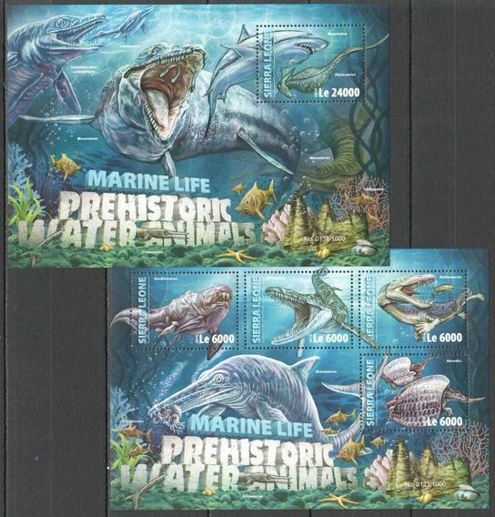 2016 Prehistoria- Dinosaurios Acuáticos - Sierra Leona Mnh