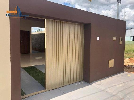 Casa Com 2 Dormitórios À Venda, 80 M² Por R$ 125.000 - Jardim Primavera 1ª Etapa - Anápolis/go - Ca1421