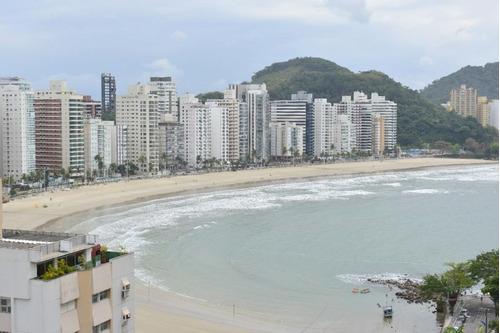 Apartamento Com 3 Dormitórios À Venda, 150 M² Por R$ 750.000,00 - Astúrias - Guarujá/sp - Ap11225