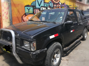 Camioneta Nissan Pick Up Doble Cabina Año 1991