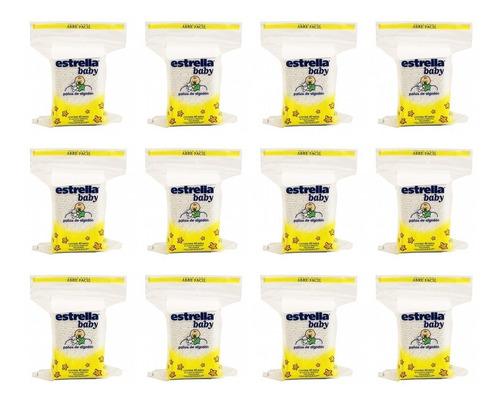 480 Paños De Algodon Estrella Baby (12 Paquetes De 40 U.)