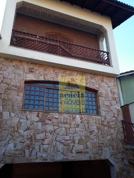 Sobrado Com 4 Dormitórios À Venda, 280 M² Por R$ 1.000.000,00 - Jardim Regina - São Paulo/sp - So2695