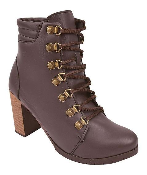 Bota Coturno Sapato Feminino Chiquiteira N 34