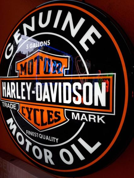 Luminoso Da Harley Davidson N Neon Bar Buteco Churrasqueira