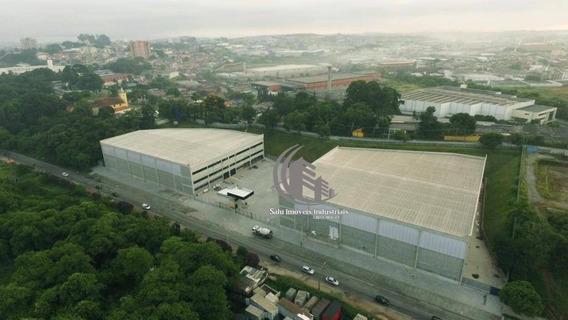 Galpão À Venda, 9616 M² Por R$ 35.000.000,00 - Vila Nova Bonsucesso - Guarulhos/sp - Ga0157