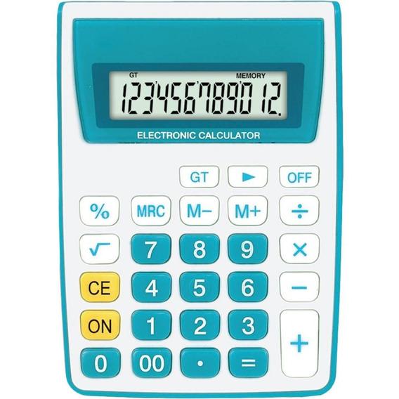 Calculadora De Mesa 12 Dig Zt886 Azul Zeta