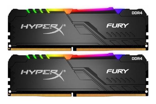 Memória Hyperx Fury Rgb 16gb 2x8gb 3200mhz Hx432c16fb3a/8