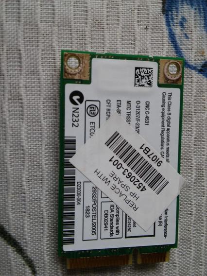 Placa Wi-fi Notebook Intel
