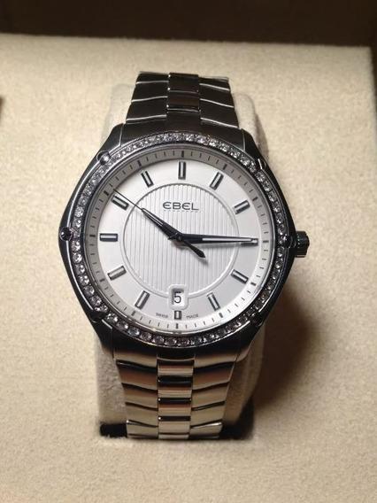 Relógio Ebel Classic Sport 54 Diamantes (1.095ct)40mm! Troco
