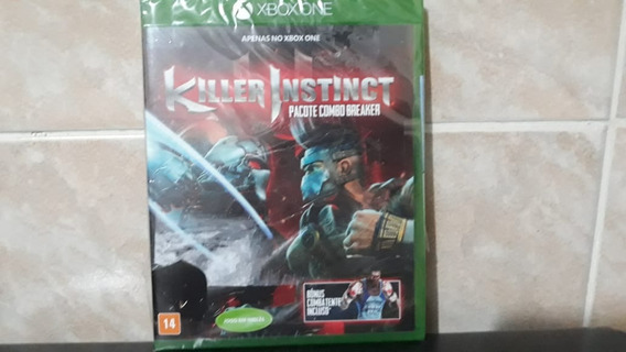 Killer Instinct Xbox One Disco Fisico Lacrado