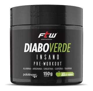 Diabo Verde Insano 150g - Pré Treino - Ftw