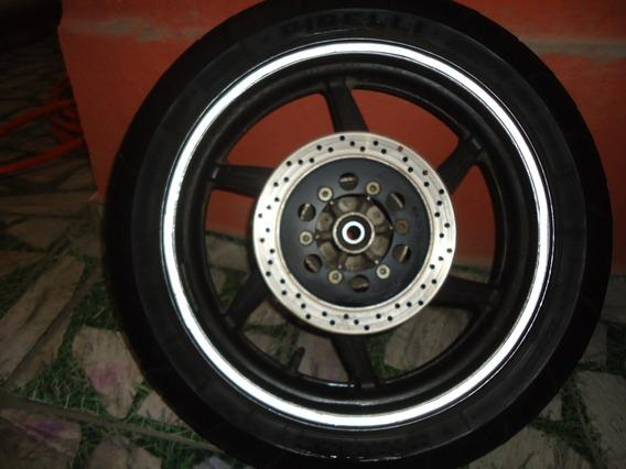 Roda Traseira Kasinski 250 C/ Disco E Pneu