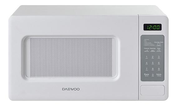 Microondas Daewoo KOR-667D blanco 19.8L 110V