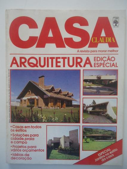 Casa Claudia #269-a Fev-1984 Arquitetura Edição Especial