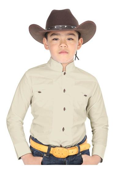 Camisa Charra Marca El General Para Niño