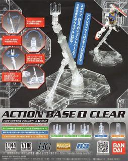 Action Base 1 Clear 1/100 1/144 Hg Mg R3 Bandai Gastovic