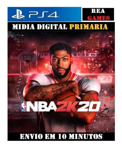 Nba 2k20 Ps4 Digital 1 Original Já Enviando
