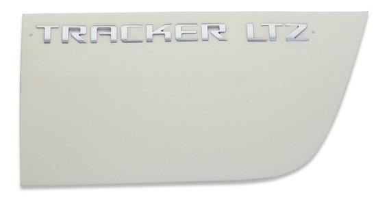 Emblema Tracker Ltz Da Tampa Traseira Genuíno Gm