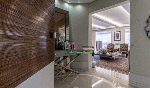 Apartamento Com 5 Dormitórios À Venda, 401 M² Por R$ 4.100.000 - Vila Suzana - São Paulo/sp - Ap8763