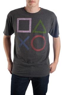 Botones Gris Jaspeado Regulador De Sony Playstation Camiseta