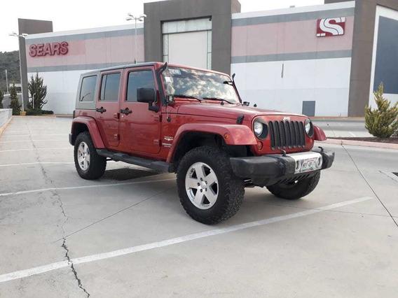 Jeep Wrangler 2009 X Sahara Unlimited 4x4 At