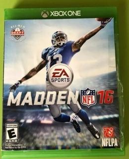 Madden Nfl 16 Xbox One Usado Entrega Inmediata