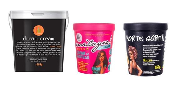 Dream Cream 3kg, Milagre, Morte Subita Lola Cosmetics